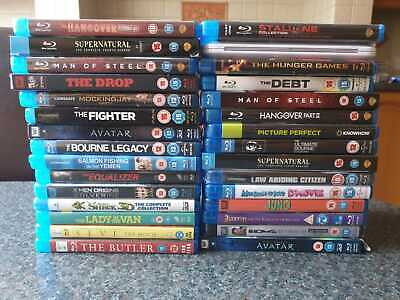 BLU RAY JOB LOT X 30 Used Good Condition (R8)