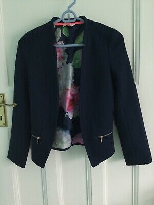 Girls Ted Baker Navy Blue Jacket / Blazer : Age 12-13 years