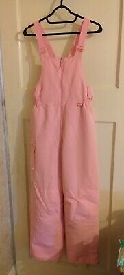 Girls Pink Cherokee Skiing Saloppetes Sz XL Approx Age 13 - 14 Years