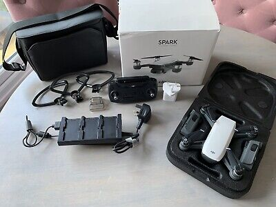 DJI Spark Fly More Combo + extras