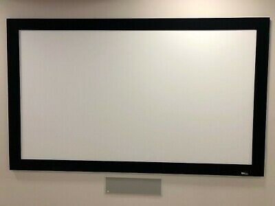 "Draper 253288 106"" Onyx Fixed Frame Projection Screen"