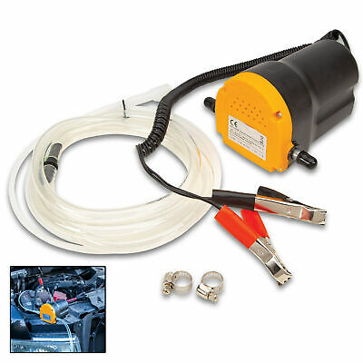 12v 5A 60W Motor Oil Diesel Extractor Scavenge Suction Transfer Change Pump