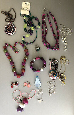 Job Lot Of Costume Jewellery. 15 Lots. Some New. Tag.