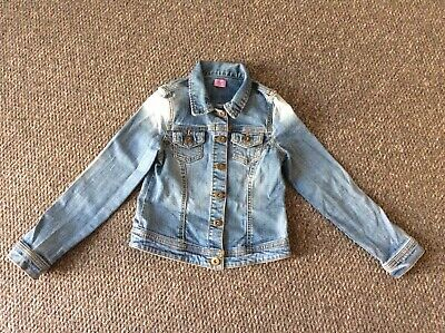 Girls Blue Denim Jacket Age 7-8 Yrs From FF