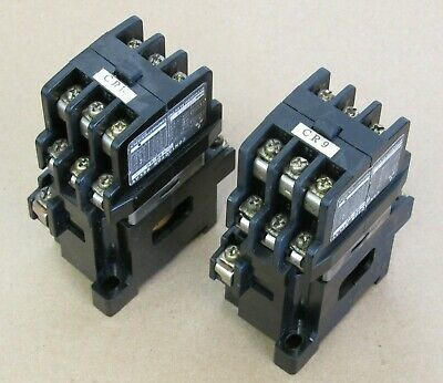 Lot Of 2: Mitsubishi Contactor Relay Type Sr-60