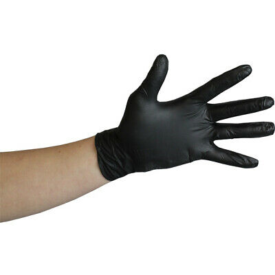 100PC DISPOSABLE SAFETY GLOVES POWDER FREE LATEX FREE TATTOO MECHANIC VAbLETING