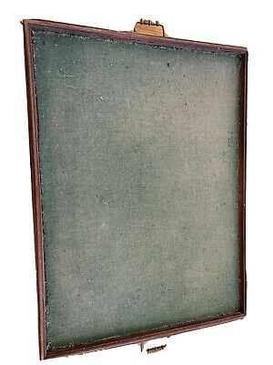 Antique card games tray