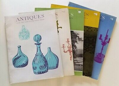 Antiques The Magazine - 1967 Five Issues