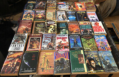 Fantasy/ Science Fiction Paperback Book Lot Tolkien, Drake And More