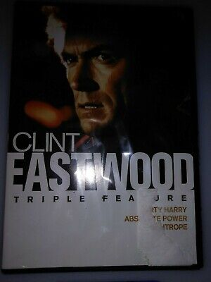 Clint Eastwood Triple Feature DVD (2015) NEW Still In Packaging Free Shipping