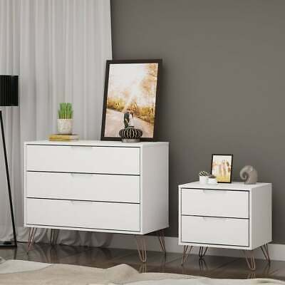 Carson Carrington Bandene Modern Dresser and Nightstand Set
