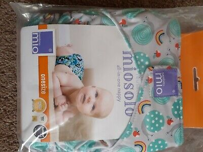 Milosolo All In One Nappy and boosters.