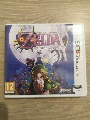 The Legend of Zelda Majora's Mask sur Nintendo 3DS