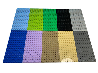 Lego 2 Base plate building board 8x16 Choose your colour GENUINE LEGO 3865