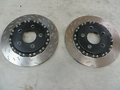 Pair Performance Friction rotors with hats  - 296mm x 19mm
