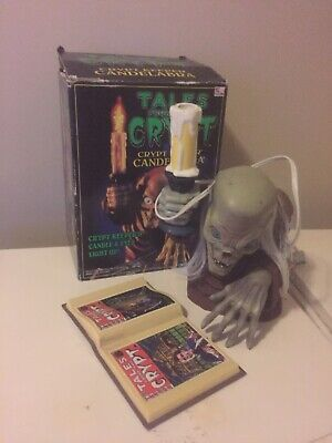 Vintage Tales From The Crypt Cryptkeeper Light Up Candelabra