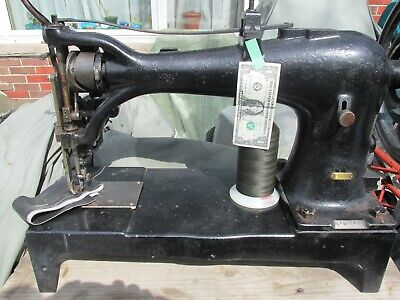 Singer Industrial Sewing Machine Leather Mod 7-34 Extra Heavy Duty