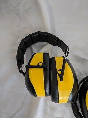 3 Sets Of Yellow Ear Protection Headets
