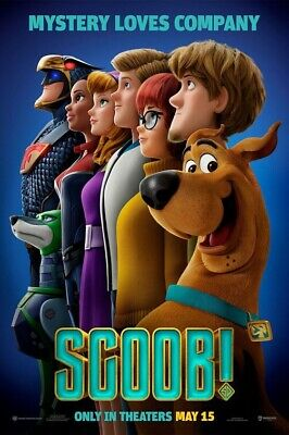 Scoob! 27x40 Original D/S Movie POSTER