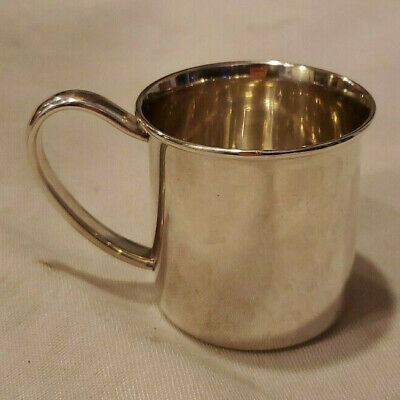LUNT Sterling Silver Baby Cup 54.52g Scrap Wght
