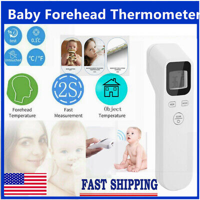 Body Infrared Forehead Thermometer Digital LCD Non-Contact Adult Temperature USA