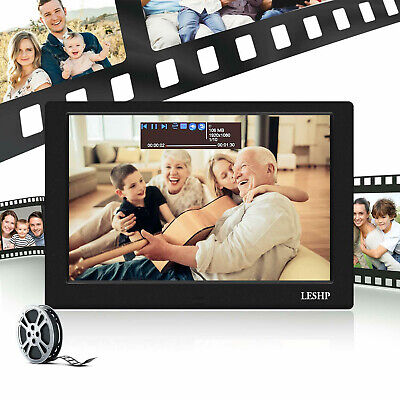 "10"" Digitaler Fotorahmen LCD LED Bilderrahmen Touchscreen Videoplayer Fernbed mS"