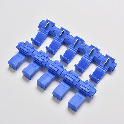 50x Electrical Cable Connectors Wire Terminals Crimp Fast Quick Splice Lock SE