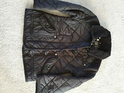 Next Girls Winter quilted coat aged 3-4 years