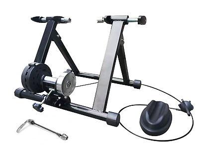 Brand New Cycling Bicycle Indoor Trainer Foldable Parabolic Bike Trainer Black