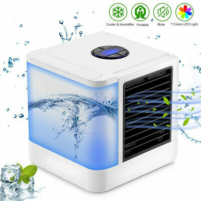 Portable Mini Air Conditioner Fan Personal Space Air Cooler The Easy Way to cool