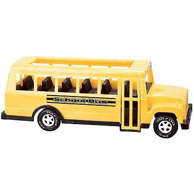 American Plastic Toys 18-inch School Bus Toy (Pack of 6) Yellow