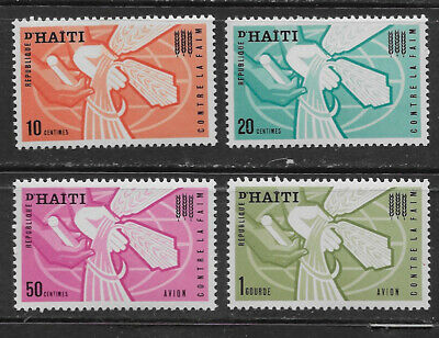 Haiti , 1963, Freedon From Hunger , Set Of 4 Stamps , Perf , Mnh