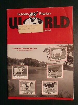 Holstein World 1978 Dreamstreet Holsteins 1978 Herd Directory + Royal Show ++