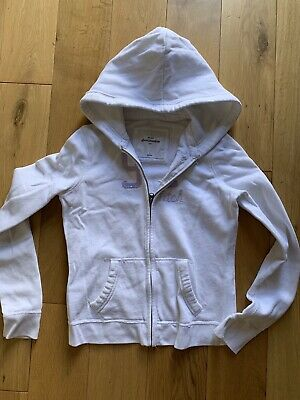 Abercrombie & Fitch Girls Zip up Hoodie Size Large
