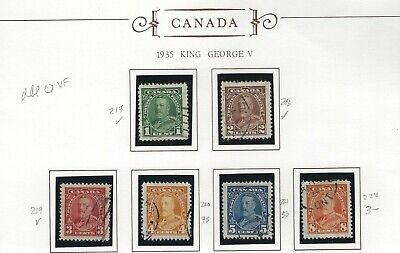 Canada - #217-#230 - King George V Pictorial Issue Used Sets