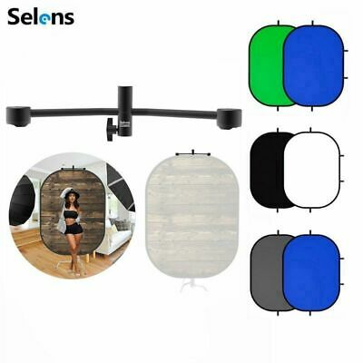 Selens 5'x7' Chromakey Disc Collapsible Background + Magnetic Background Support