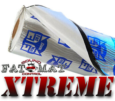 20 sq.ft FATMAT XTREME Car Camper Van Sound Deadening & Heat Proofing -Dynamat