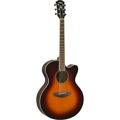 Yamaha Compass Series CPX600 OVS Acoustic/Electric Guitar, Old Violin Sunburst