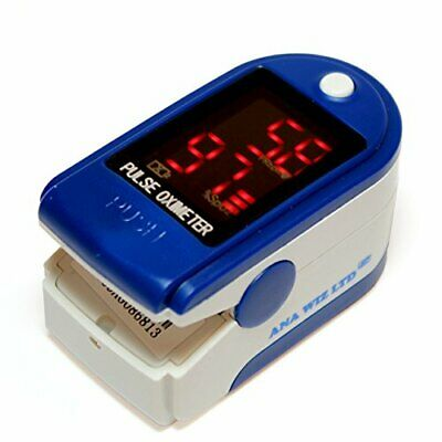 Finger Pulse Oximeter With LED Display (Includes Carrycase, Batteries and