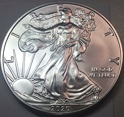 2020  $1 Silver American Eagle From Original Roll