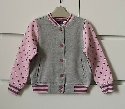 LUPILU___pink and grey bomber jacket girl age 2-4 yrs  ex con