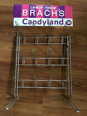Vintage Candy From Brach's Candyland 10 Cent Display Rack