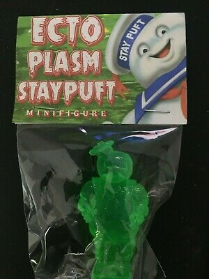 Ghostbusters Ecto Plasm Stay Puft marshmallow man figure translucent