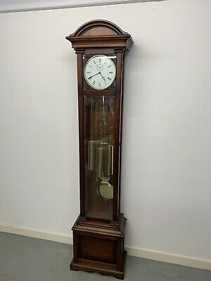 Quailty Mahogany German Kieninger Grandfather Longcase Clock Free Delivery