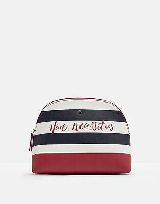 Joules Womens Onboard Large Travel Bag - NAVY TRAVEL TEXT in One Size