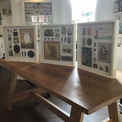 Cabinet Of Curiosities Framed Vintage Artifacts