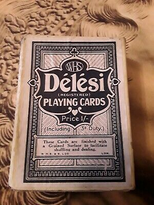 WHS Delesi Vintage Art Deco Playing Cards