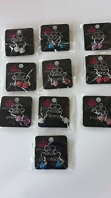 Paparazzi Starlet Shimmer Children's Earrings Lot Of 10