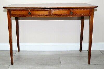 Late 18th Century Mahogany Inlaid Side Table