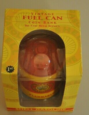 First Gear Collectible Vintage Fuel Can Coin Bank